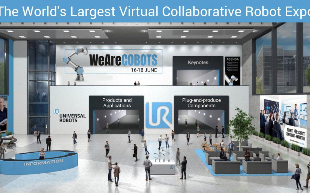 Besök världens största virtuella mässa för cobotar 16-18 juni